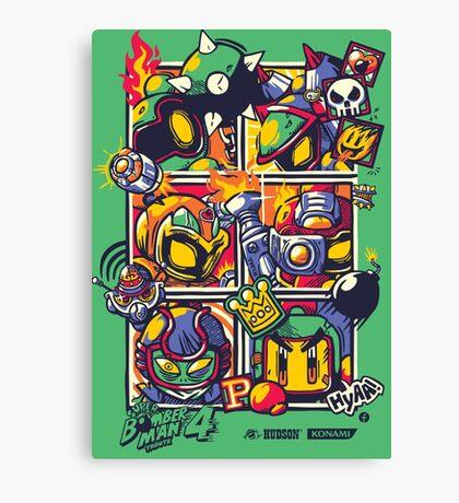 Bomber Battle - Player 05 Canvas Print