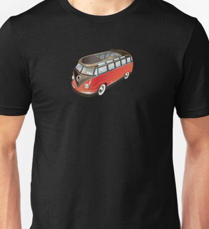 Samba Bus Old Style VW Bus Unisex T-Shirt