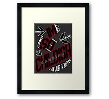 IM SO CHILDISH Framed Print