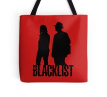 Red and Liz Silhouettes  Tote Bag
