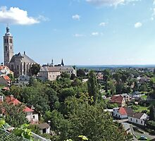 Kutna Hora, with St James Church, Czech Republic by Margaret  Hyde