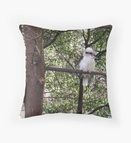 Kookaburra serenity  Throw Pillow