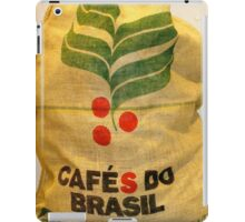 Coffee Beans from Brazil iPad Case/Skin