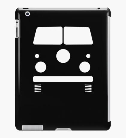 Split Shape VW Front White iPad Case/Skin