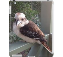 One of natures close guests iPad Case/Skin