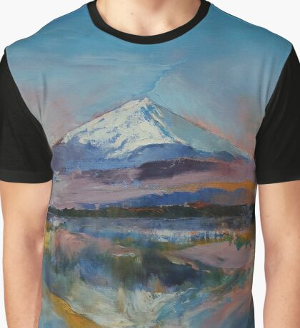 Mount Fuji Graphic T-Shirt
