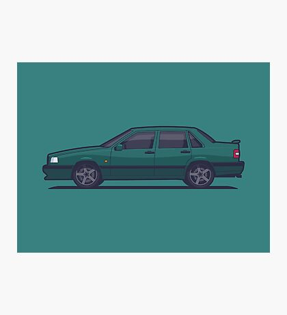 Volvo 850 T-5R Saloon (Green) Photographic Print