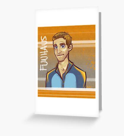 Funhaus - James Willems  Greeting Card