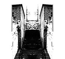 Alleyway and Alleyway Photographic Print