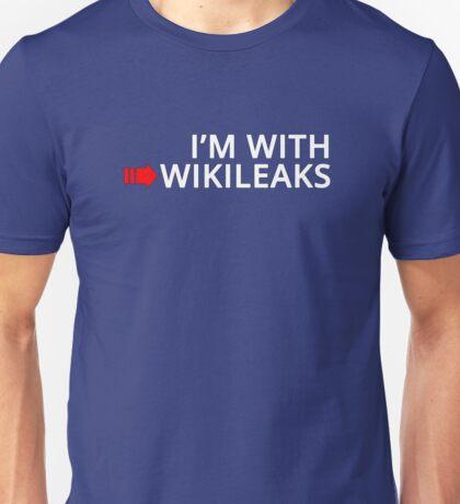 I'm With Wikileaks Unisex T-Shirt