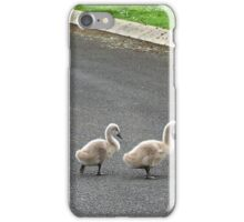 Mrs Swan & Cygnets iPhone Case/Skin