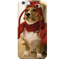Corgi lobster iPhone Case/Skin