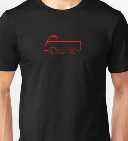 Barn Door Single Cab VW Bus Unisex T-Shirt