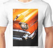 Orange 57 Chevy Unisex T-Shirt