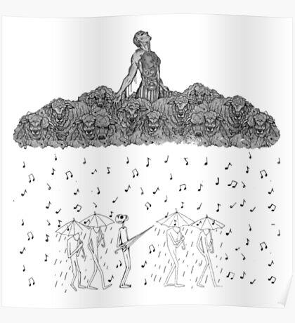 Rainy Girl Poster