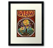 Nahko & Medicine for the People | Fan Made Poster Framed Print
