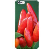 chili in vegetable garden iPhone Case/Skin
