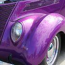 Vintage 1937 Ford Humpback by Vickie Emms