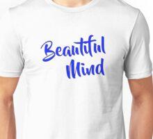 Beautiful Mind 6 Blue Unisex T-Shirt