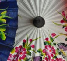 Paper Umbrellas of Thailand Sticker