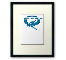Ouroboros Logo Framed Print