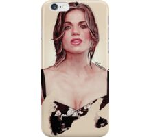 Lana Parrilla, the flawless. iPhone Case/Skin