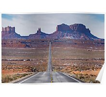 Monument Valley National Park in Arizona, USA Poster