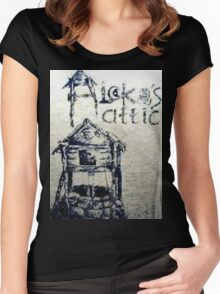 Aleka's Attic Women's Fitted Scoop T-Shirt