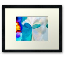 Touch of Motherly Love – Across The Great Divide (Digital Version) Framed Print