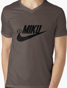MIKU (blk) Mens V-Neck T-Shirt