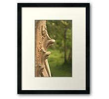Beng Mealea Temple Snakes Framed Print