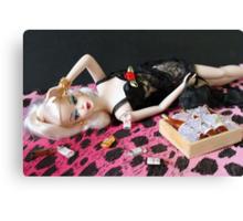 Bad Barbie Canvas Print