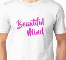 Beautiful Mind 6 Magenta Unisex T-Shirt