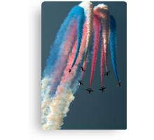 The Red Arrows Canvas Print