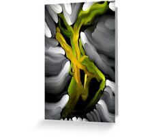 Dancing In The Twilight (Vertical Card) Greeting Card