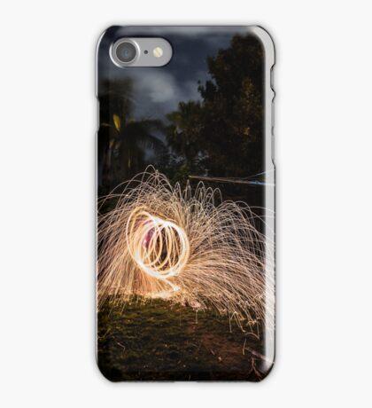 Fire wire iPhone Case/Skin