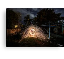 Fire wire Canvas Print