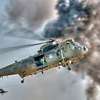 Royal Navy Sea King Helicopter by © Steve H Clark