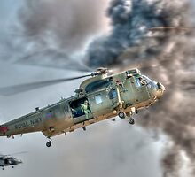 Royal Navy Sea King Helicopter by © Steve H Clark Photography