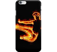 Burning man2 iPhone Case/Skin