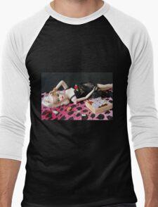 Bad Barbie Men's Baseball ¾ T-Shirt