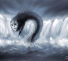 Water Kami by Kitsune Arts