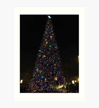 Light up that tree Art Print