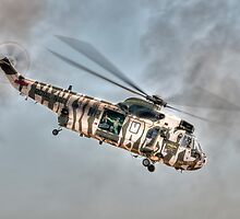 Sea King in Arctic Camouflage by © Steve H Clark
