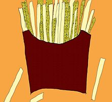 French Fries Collage by duckpie