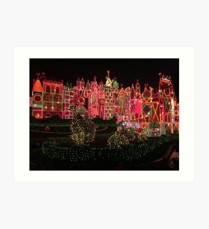 It's a small world after all Art Print