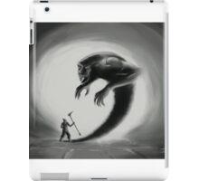 Shadows' chaser iPad Case/Skin