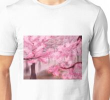 Blooming Sakura Trees Unisex T-Shirt