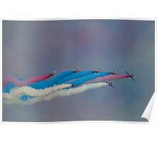 The Red Arrows Painting the Sky Poster