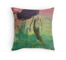 Echoes of her 01 Throw Pillow